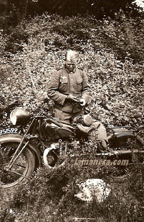 Motos militares antiguas