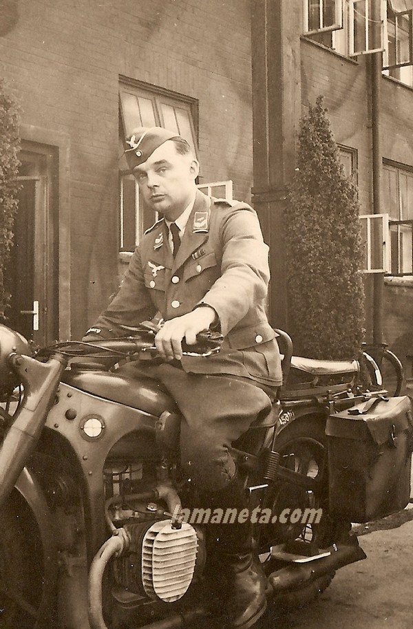 militares, militar, sidecar, parada, Alemania,