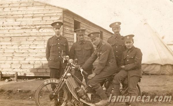 militares, militar, Reino, Unido, britanicos, Scoot, parada, moto