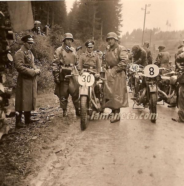 militares, militar, Alemania, competicion, carreras, paradas, motos