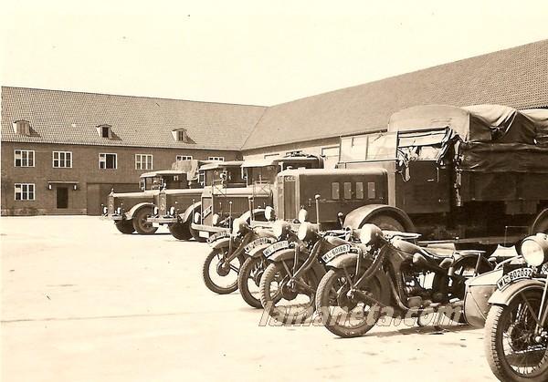 militares, militar, Alemania, paradas, camiones, sidecar, motos