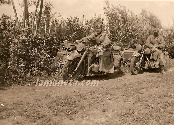 militares, militar, Alemania, parada, motos