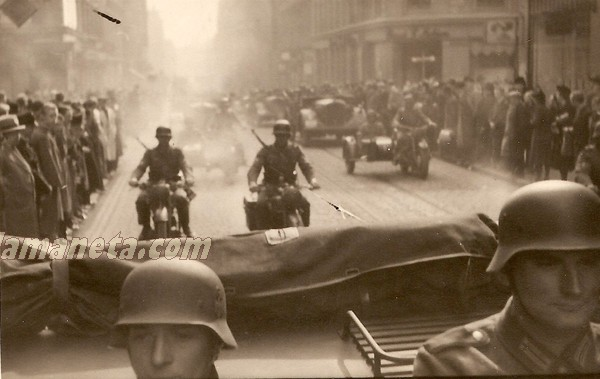 militares, militar, Alemania, Dinamarca, Copenhague, desfile, motos