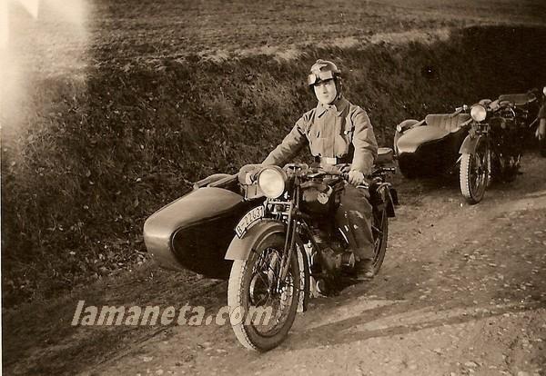 militares, militar, Alemania, NSU, motos