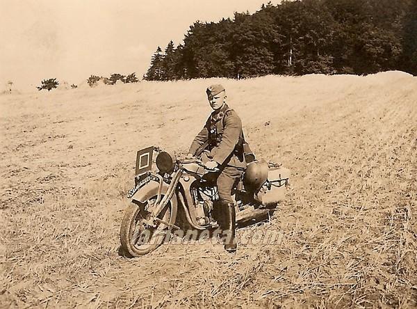 militares, militar, Alemania, parada, campo, moto